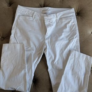 Old Navy white Pixy pant
